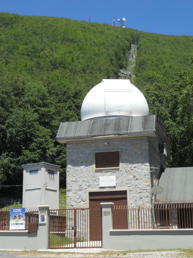 Ciociaria, Monti Ernici. L'osservatorio astronomico di Campo Catino
