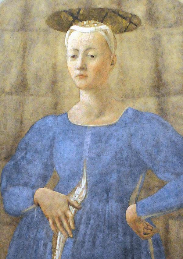 La Madonna del Parto di Piero della Francesca