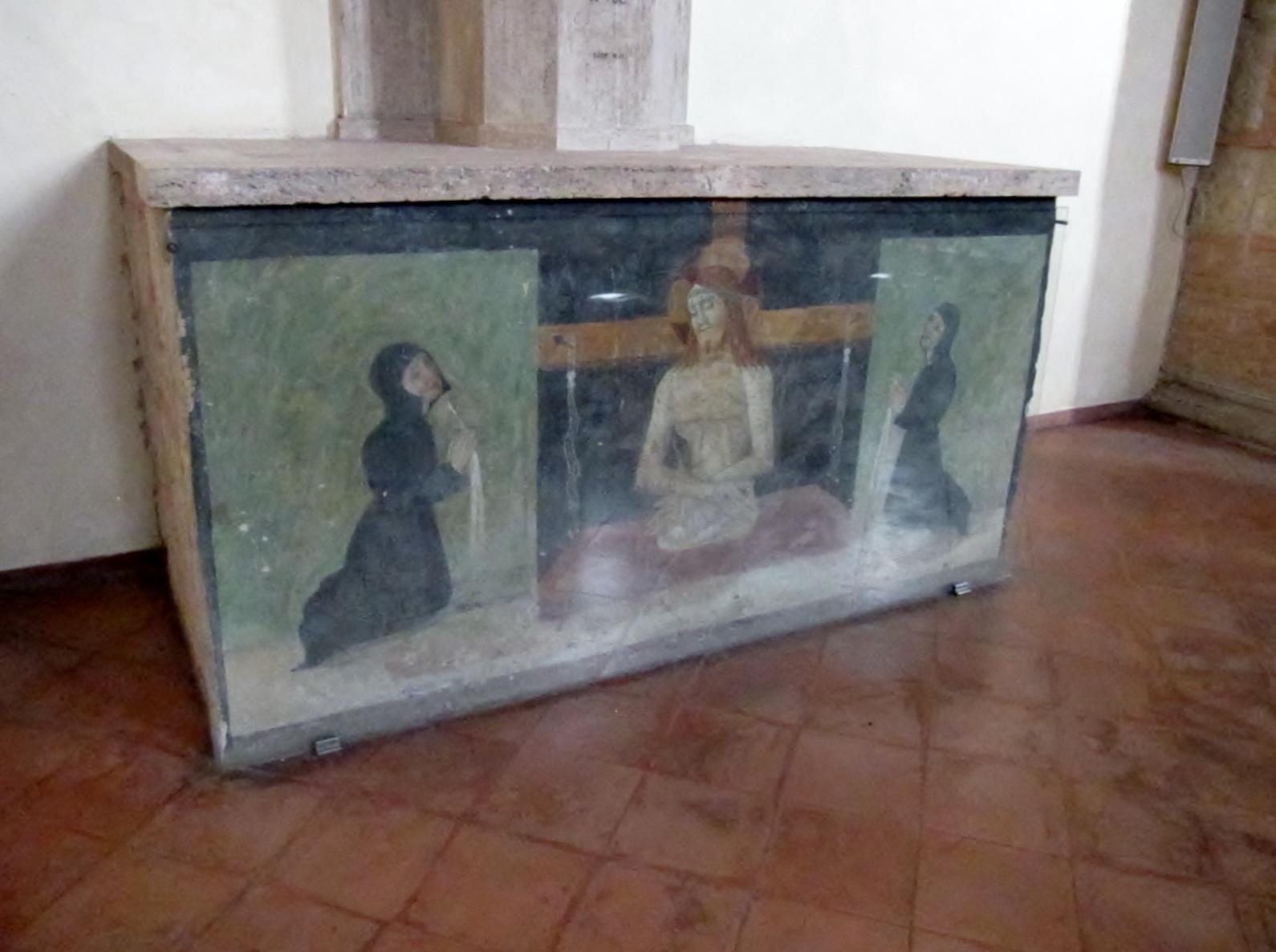 Affresco nella Chiesa di S. Agostino a Massa Marittima