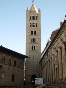 Il campanile del Duomo di Massa Marittima