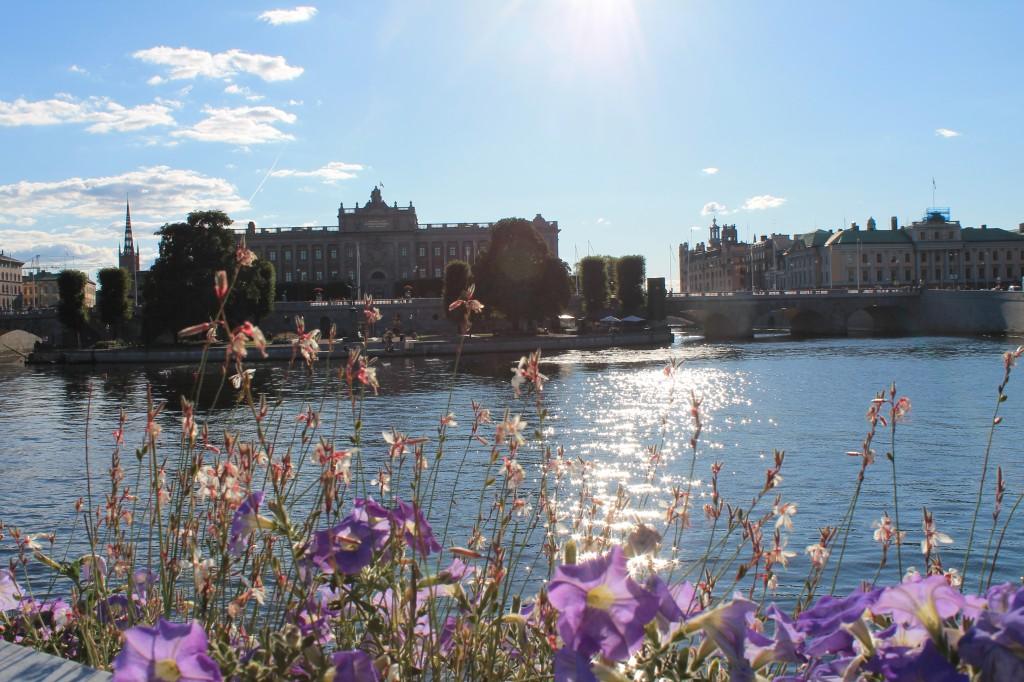 stoccolma palazzo reale visto dall'acqua