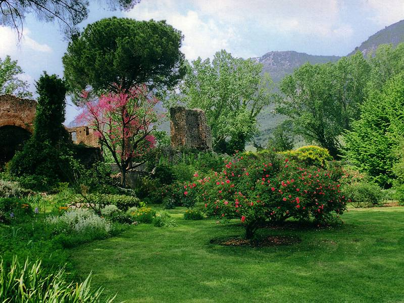 Il Giardino di Ninfa il boschetto