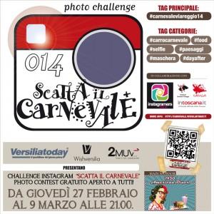 Scatta il Carnevale… e vinci Viareggio
