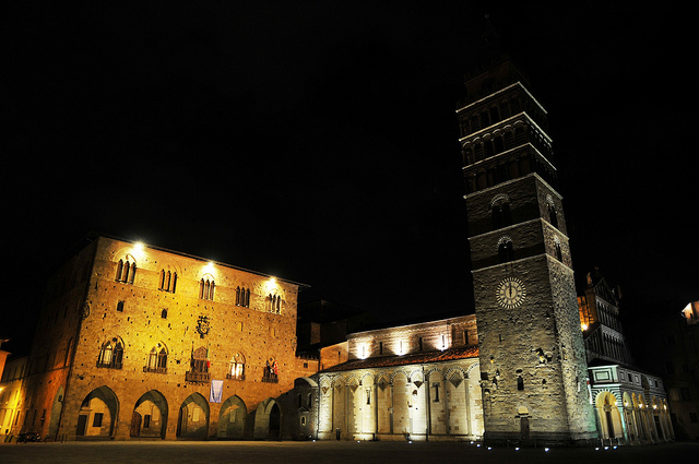 pistoia by night