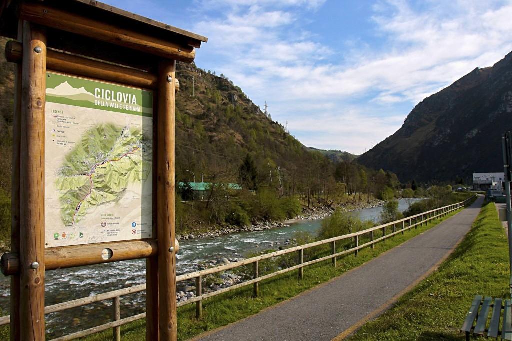 265868 Pista ciclabile dell'Alta Val Seriana
