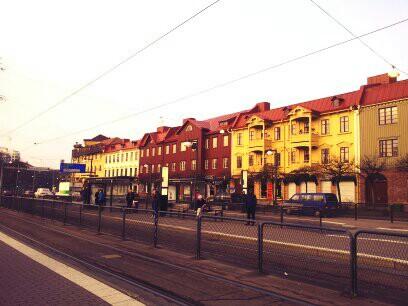strade di Goteborg
