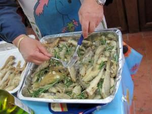 Il pesce scaveccio. Slow Vigna 2010