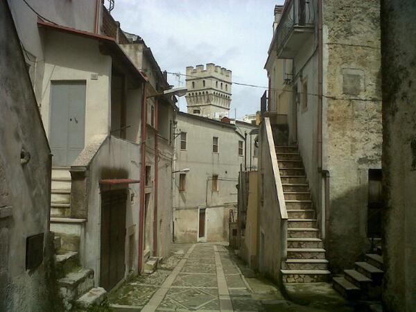 Vico del Gargano, strade