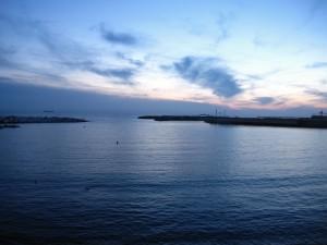 Tramonto su Livorno