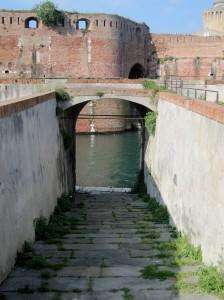 L'ingresso alla Fortezza medicea
