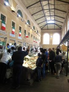 Il mercato coperto - il pesce