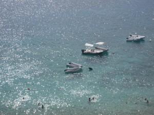 Isole Tremiti - mare tra S. Nicola e S. Domino