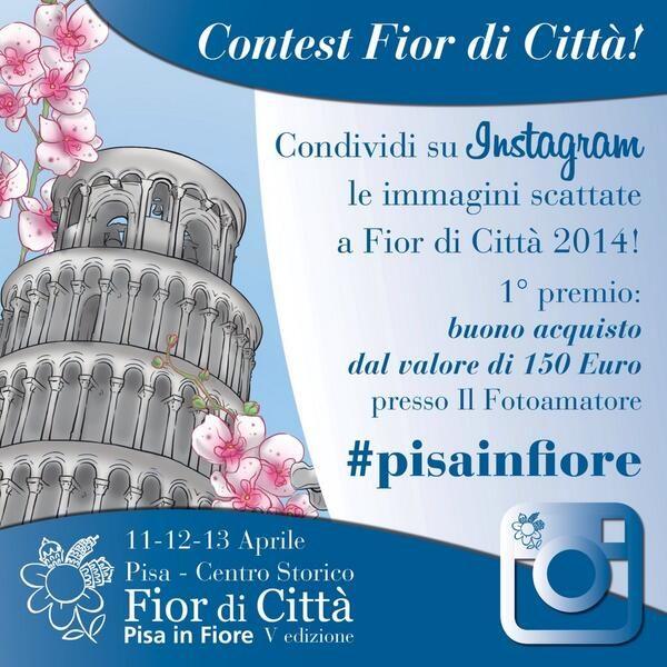 Dall'11 al 13 aprile Pisa si colora con Pisa in Fiore – Fior di Città