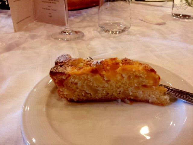 torta di mele hotel alpino