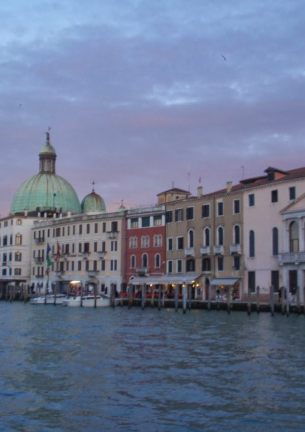 venezia in battello