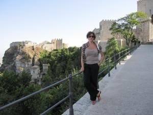 Me, nella vacanza siciliana