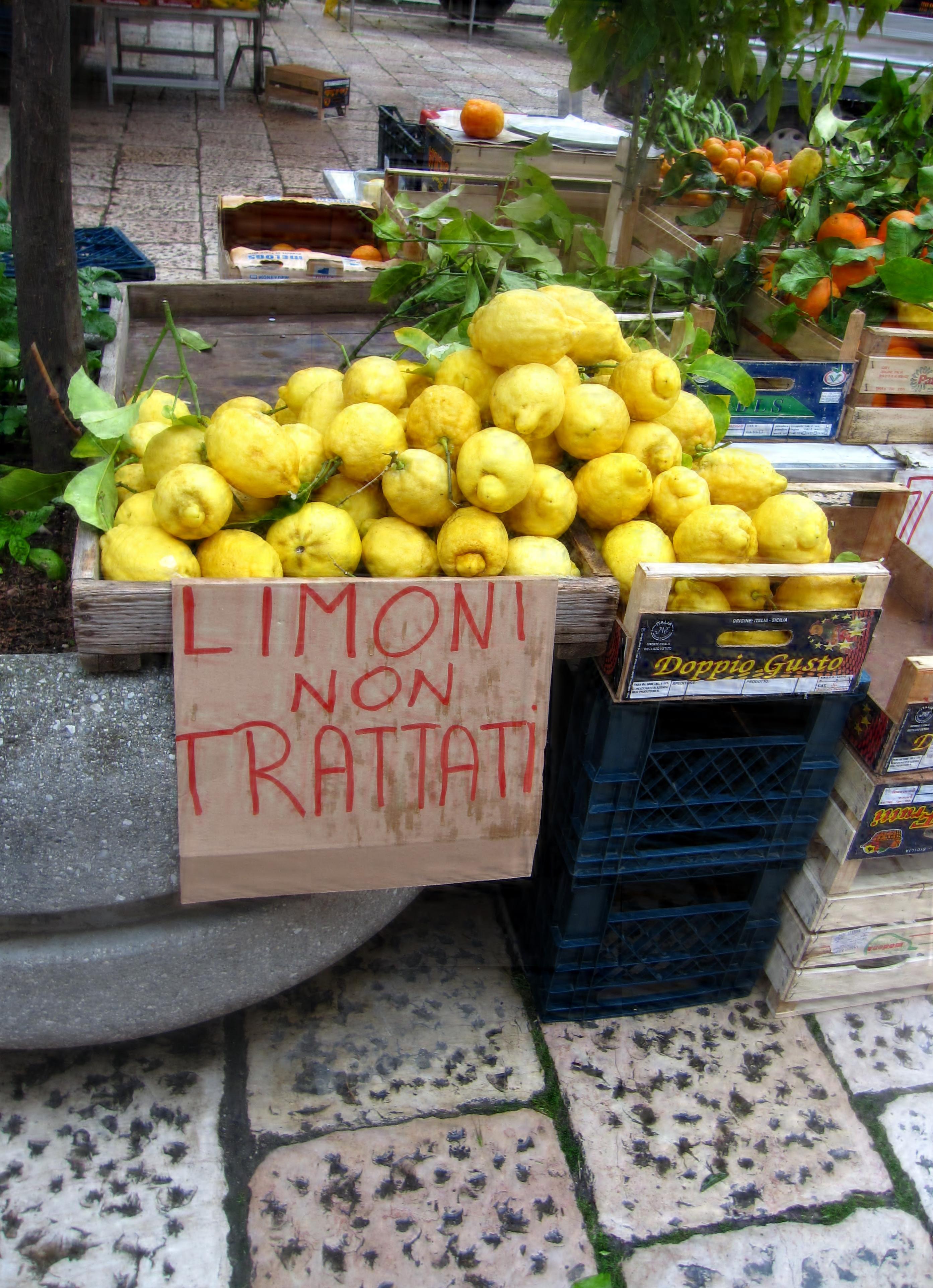 C'erano una volta i pomi citrini del Gargano…e, fortunatamente, ci sono ancora!
