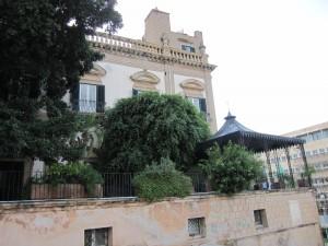 Scorcio di un palazzo citato nel Gattopardo