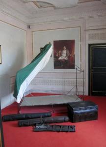 Villa dei Mulini - branda da battaglia di Napoleone