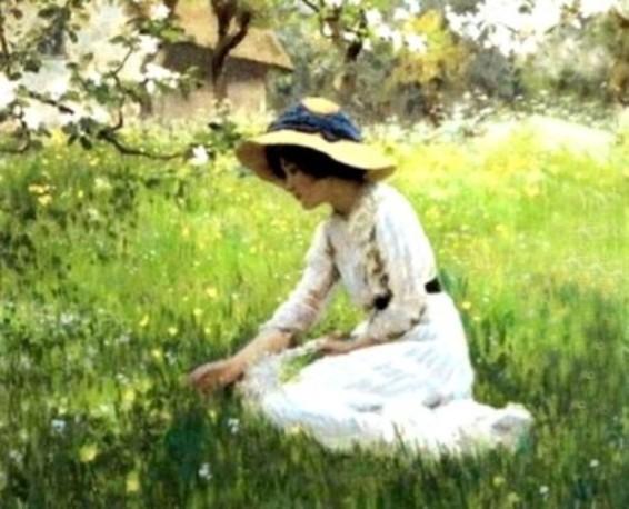 arthur-hacker-les-fleurs-du-printemps-1870