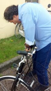 E ci toccano le biciclette