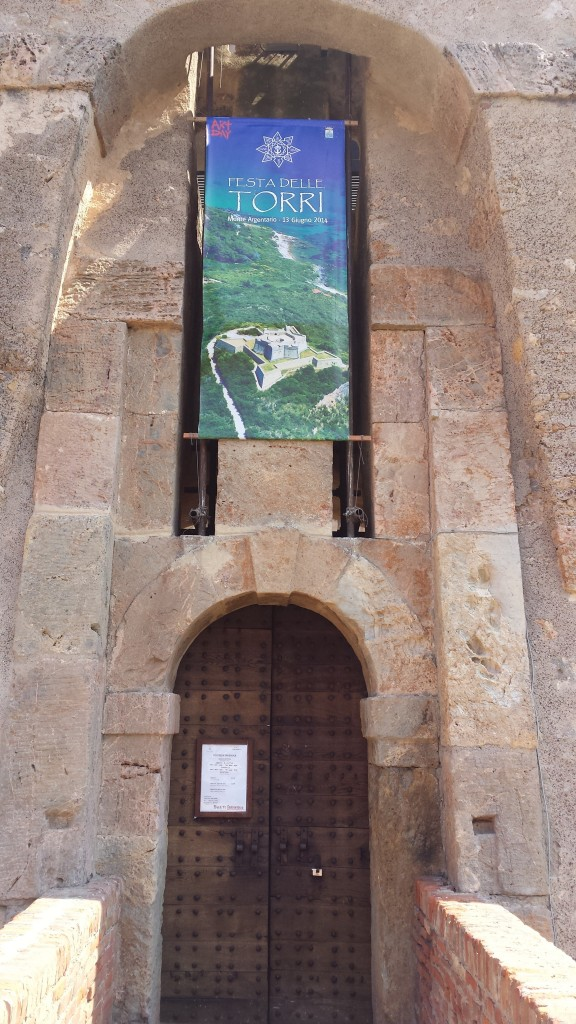 L'ingresso in Fortezza