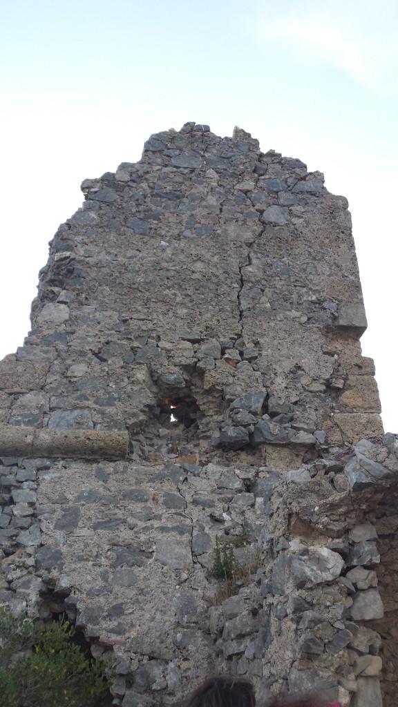 I ruderi della Torre di Capo d'Omo