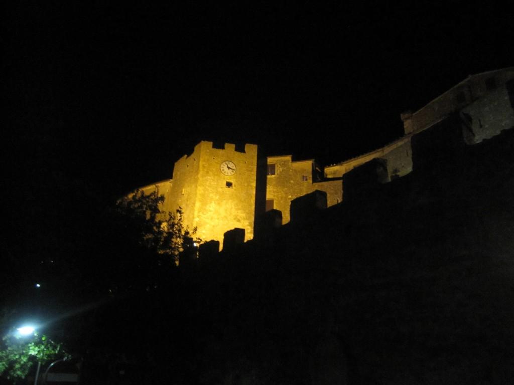 Castello di Capalbio, luglio 2012