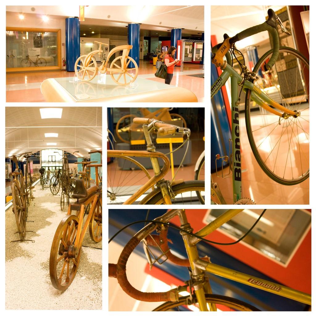 Biciclette storiche, biciclette di campioni al Museo dei Campionissimi di Novi Ligure