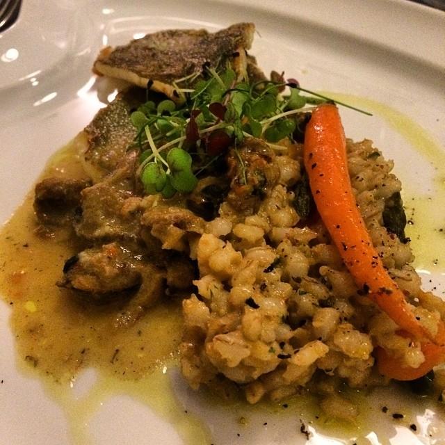 Piatto di pesce - Ph credits: @gabriotomellieri su Instagram
