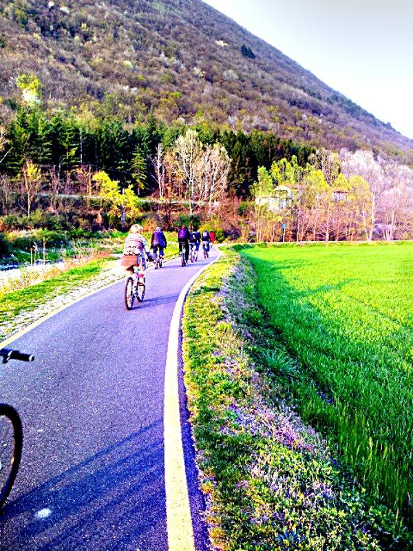 pista ciclabile da Laveno a Cittiglio