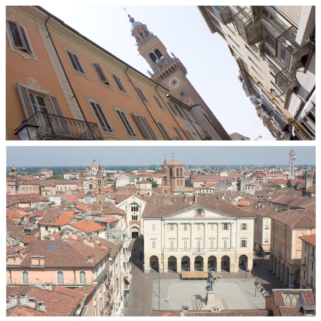 Dall'alto della torre si gode di una sconfinata vista panoramica sulla città
