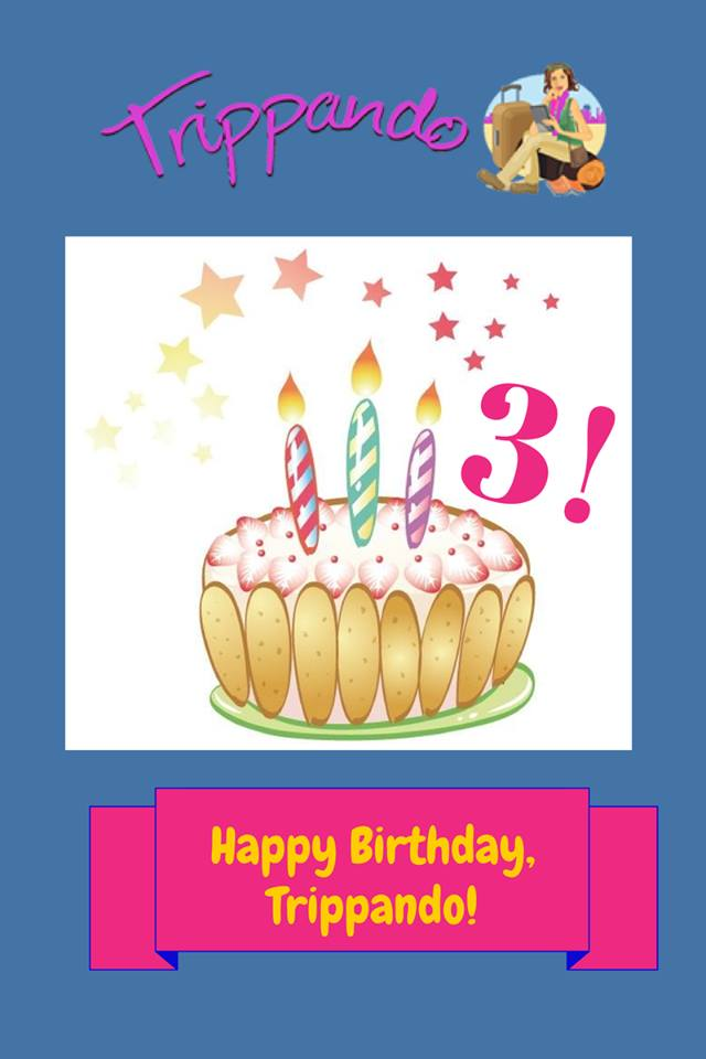 Preferenza Tre anni, un regalo e una proposta: Buon Compleanno Trippando  PR73