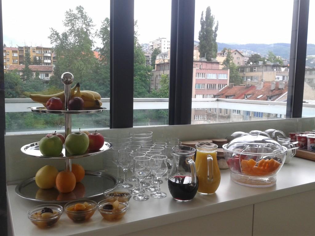 colazione city hotel sarajevo