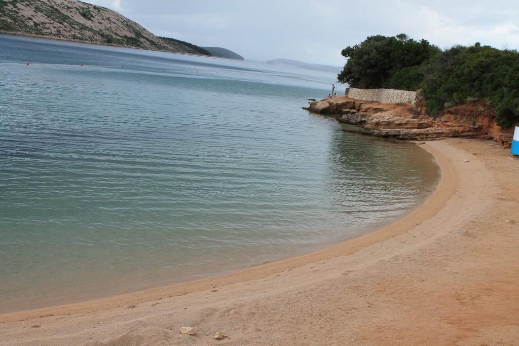spiaggia di pudarica a rab