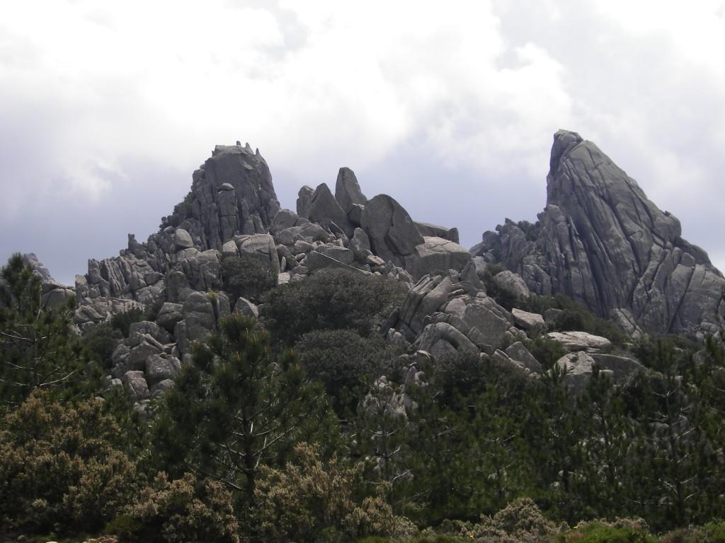 Rocce granitiche Limbara
