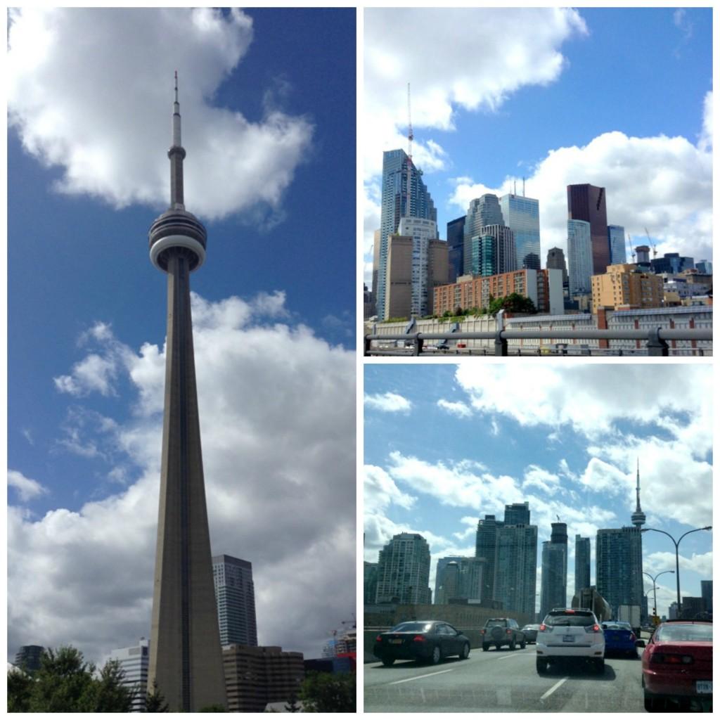 collage skyline
