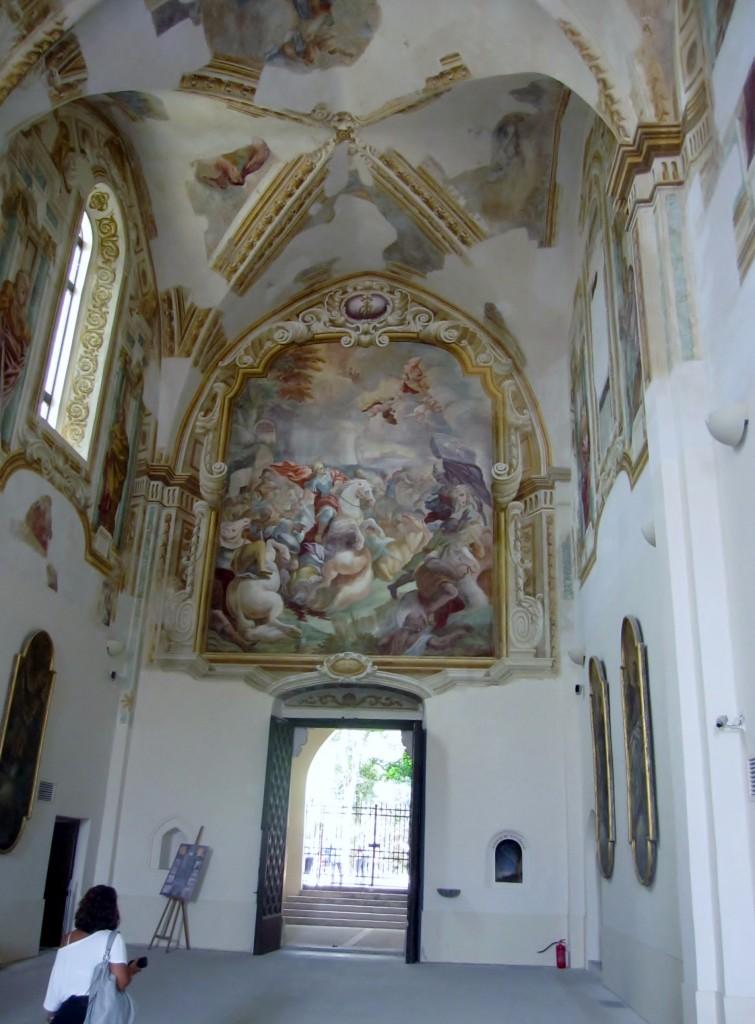 Gli affreschi della Certosa di S. Giacomo