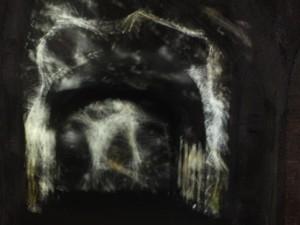 le luci di dentro alla catacomba di san gennaro