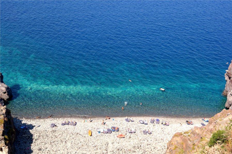 Punta Scario salina panorama