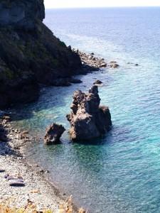 Punta Scario spiaggia Salina