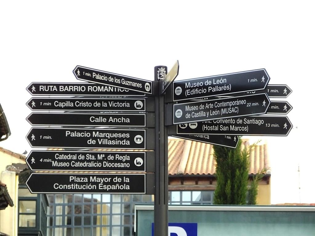 indicazioni cammino
