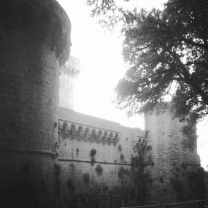 Le possenti mura medievali