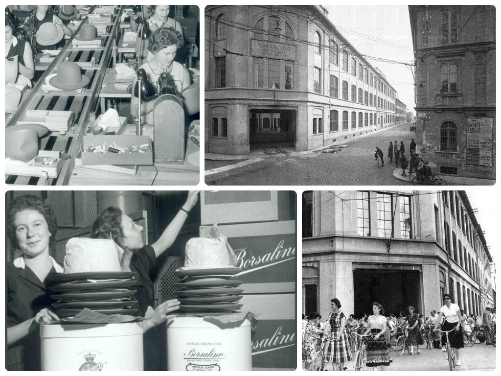 Foto storiche della Fabbrica e delle operaie