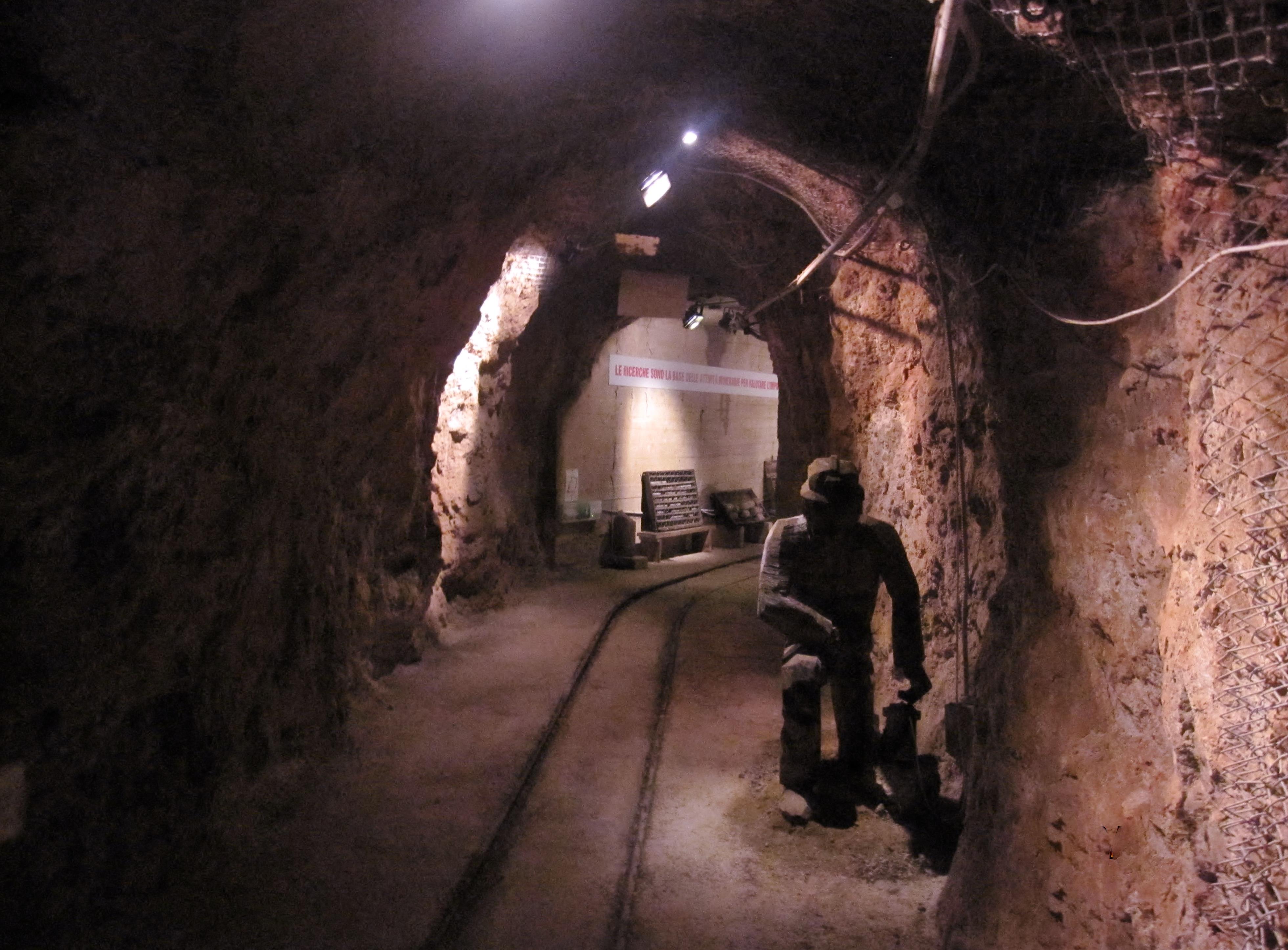 museo della miniera di Gavorrano