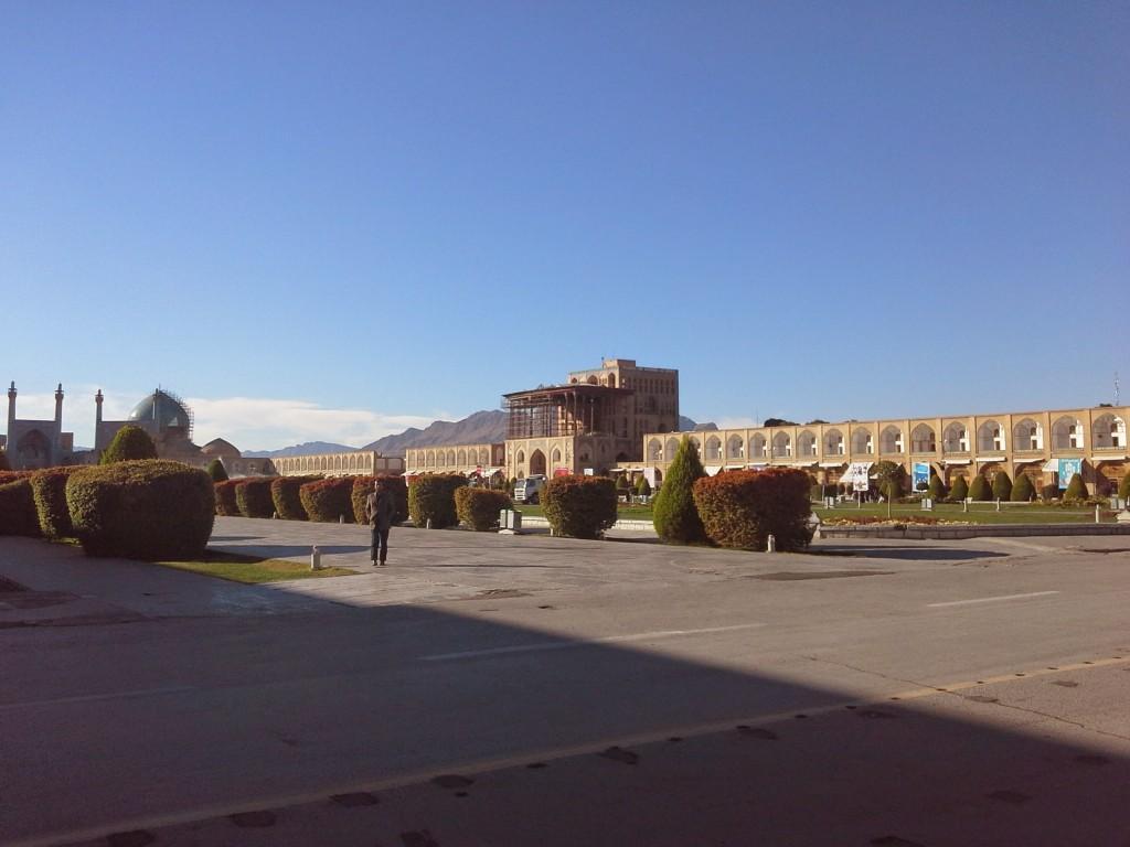 "Isfahan: la piazza centrale ""Naghsh-e Jahan"""