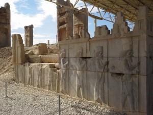 bassorilievi del Palazzo di Primavera (DARIO I)