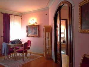 l'entrata della suite
