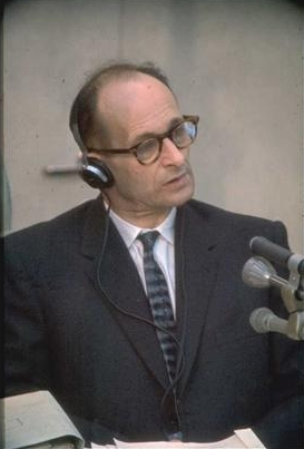 Heichmann durante il processo