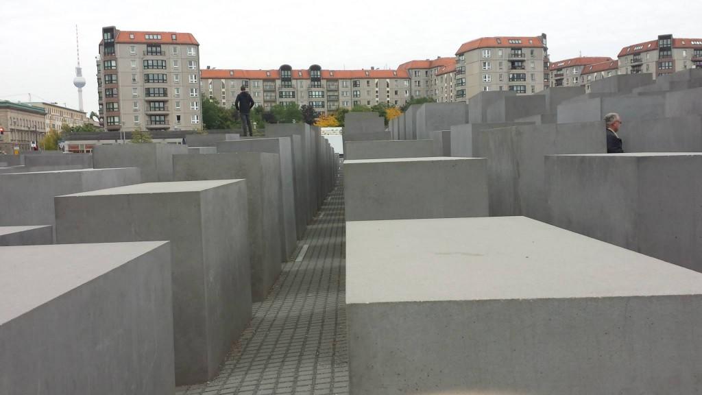 passegiando per l Holocaust Mahnmal